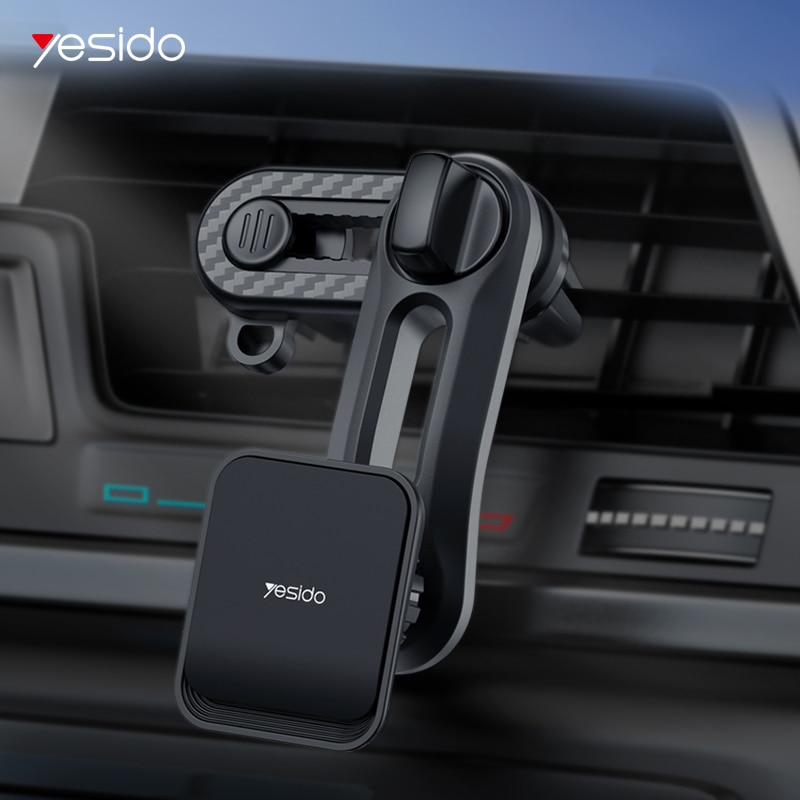 YESIDO Universal Car Creative Magnet Air Outlet Mobile Phone Self-Priming Bracket Holder Mount Car B