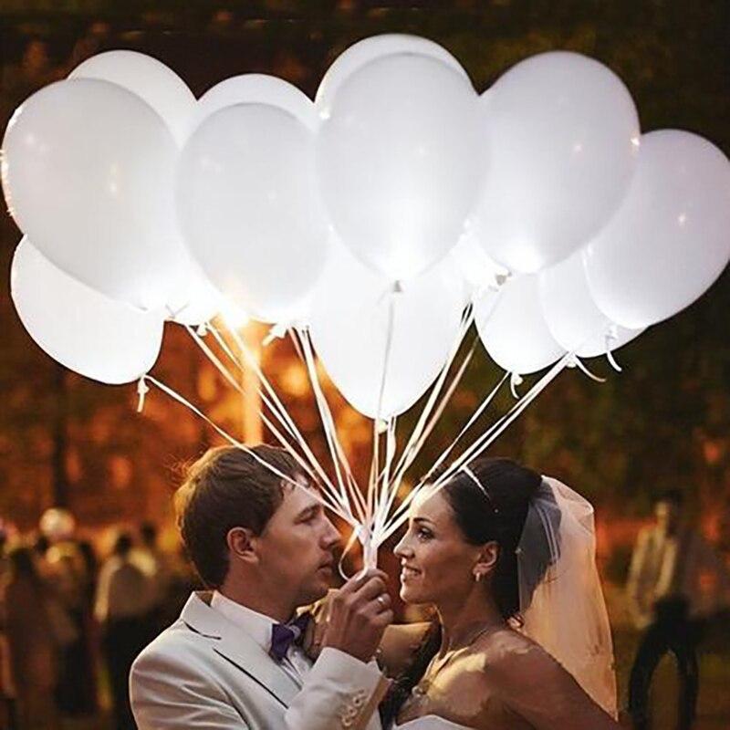 50-100 pces 5/10/12 polegada brilhante pérola branco látex balões globo cor aniversário casamento festa de aniversário suprimentos balões de hélio