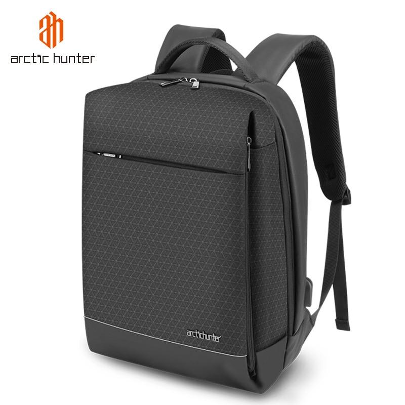 ARCTIC HUNTER 15.6 Inch Laptop Backpack for Men Waterproof USB Charging Bag Teenage School Bags Pack Business Bagback Mochilas