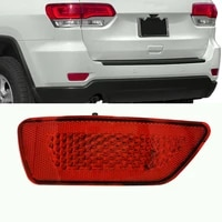 right drivers side bumper reflector 57010721ac tail light for jeep fit for dodge grand cherokee compass 11 16 car parts 1pc