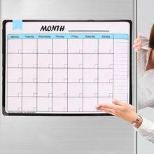 Monatliche Planer Weiche Magnetische Whiteboard Kühlschrank Magneten Zeichnung Nachricht Memo Pad