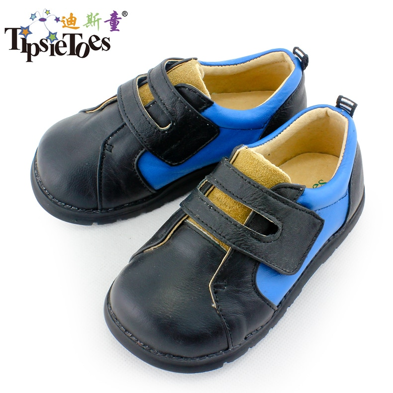 TipsieToes Brand High Grade Sheepskin Leather Kids Children School Shoes Sneakers For Boys And Girls