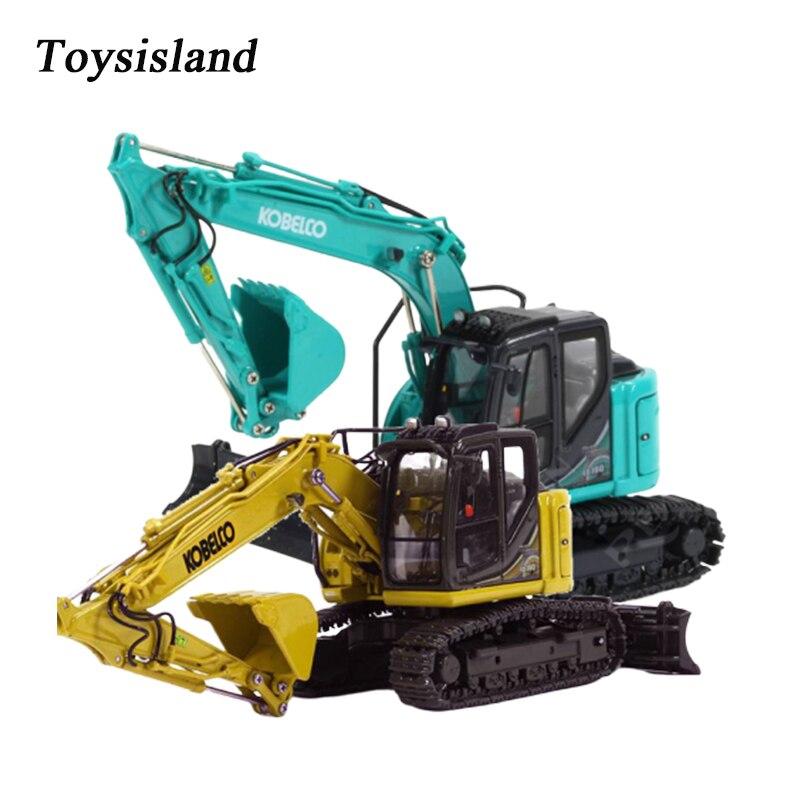 Excavadora hidráulica de juguete modelo regalo 150 KOBELCO ED160BR-5 excavadoras de maquinaria de ingeniería