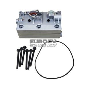 Spare Parts for Volvo Trucks VOE 22203109 Compressor Cylinder Head Wabco 412 704 9402