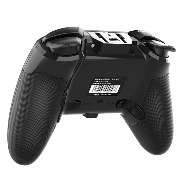 MOBAPAD Pro Consoles Professional Bluetooth Controller with Customizable Buttons and  NFC for Nintendo Switch PC 6