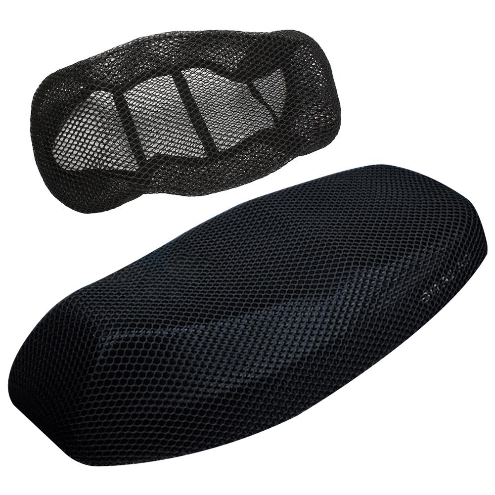 Motorcycle Seat Cushion Cover M/L/XL/XXL Net 3D Mesh Protector Insulation Cushion Cover Electric Bike Universal
