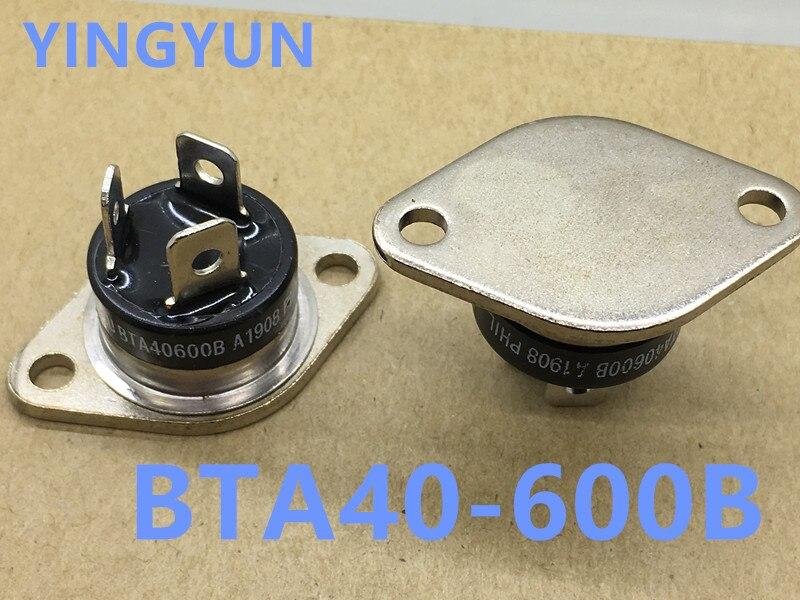 Lote de 2 unidades, BTA40-600B BTA40-600 BTA40600B TO-3 de 40a/600V