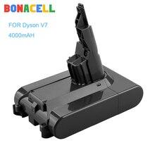 Bonacell 21,6 V 4000mAh V7 Li-lon батарея для Dyson FLUFFY /Extra / Mattre/ V 7 животных пылесос инструменты батарея