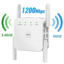 WiFi répéteur WiFi Extender 2.4G 5G sans fil WiFi Booster Wi-Fi amplificateur 5ghz Wi-Fi répéteur de Signal Wi-Fi 1200Mpbs 300Mbps