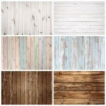 Blanc planche de bois Texture plancher en bois nouveau-né bébé douche toile de fond photographie fond pour Photo Studio Photophone Photozone