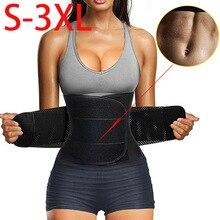 Women Men Waist Trainer Belt Tummy Control Waist Cincher Trimmer Sauna Sweat Belt Workout Girdle Slim Belly Band Sport Girdle 3X