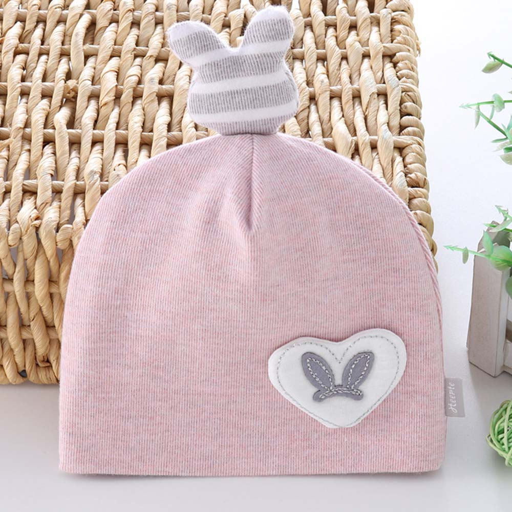 Gorra para recién nacido algodón dibujos animados bebé niña niño gorro primavera Otoño Invierno Niñas Ropa Accesorios 0-3 meses