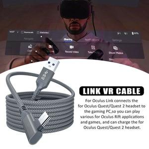 Image 3 - 5 м линия передачи данных для Oculus Quest 2 подключения гарнитуры USB 3,0 Тип C для зарядки и синхронизации данных кабель передачи Тип с разъемами типа C и USB A Шнур Очки виртуальной реальности VR аксессуары