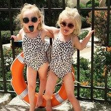 Kinderen Meisje Zebra Print Een Stuk Badmode Kinderen Baby Meisje Badpak Bikini Zwemmen Kleding