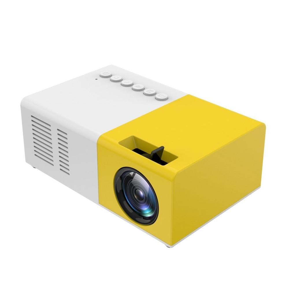 Mini LED Projector Home Theater Cinema Multimedia Projector Hdmi Usb Audio Video Portable Projector