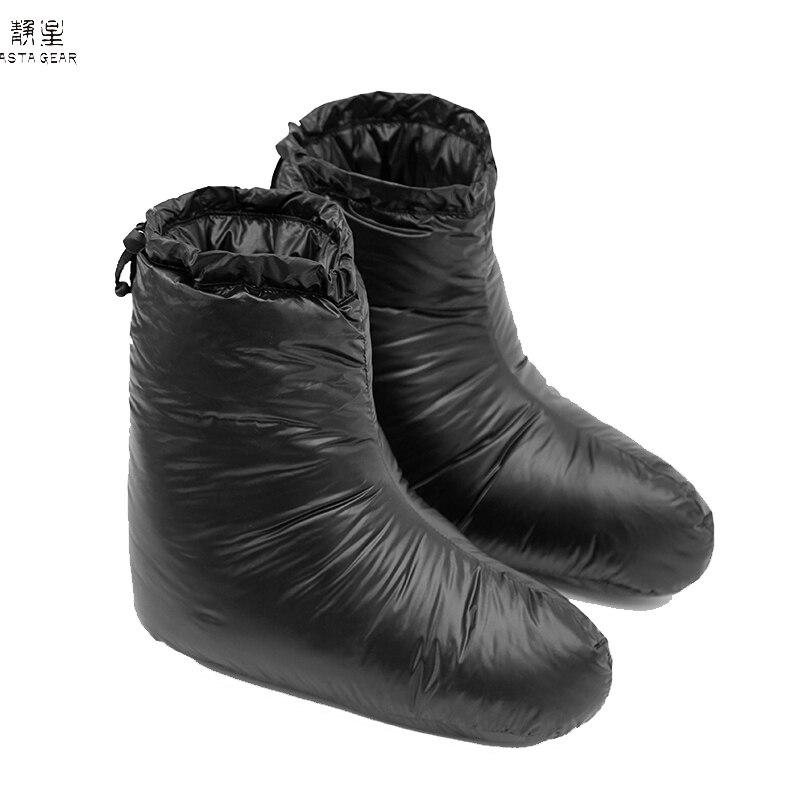 ASTA GEAR Outdoor Winter  Down Ultralight  Foot Cover Shoes Camping Windproof Waterproof