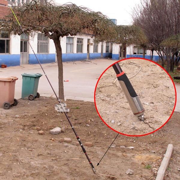 Высокое Качество рыболовные катушки удочка держатель для заземления подставка из нержавеющей стали рыболовные снасти рыболовные инструме...