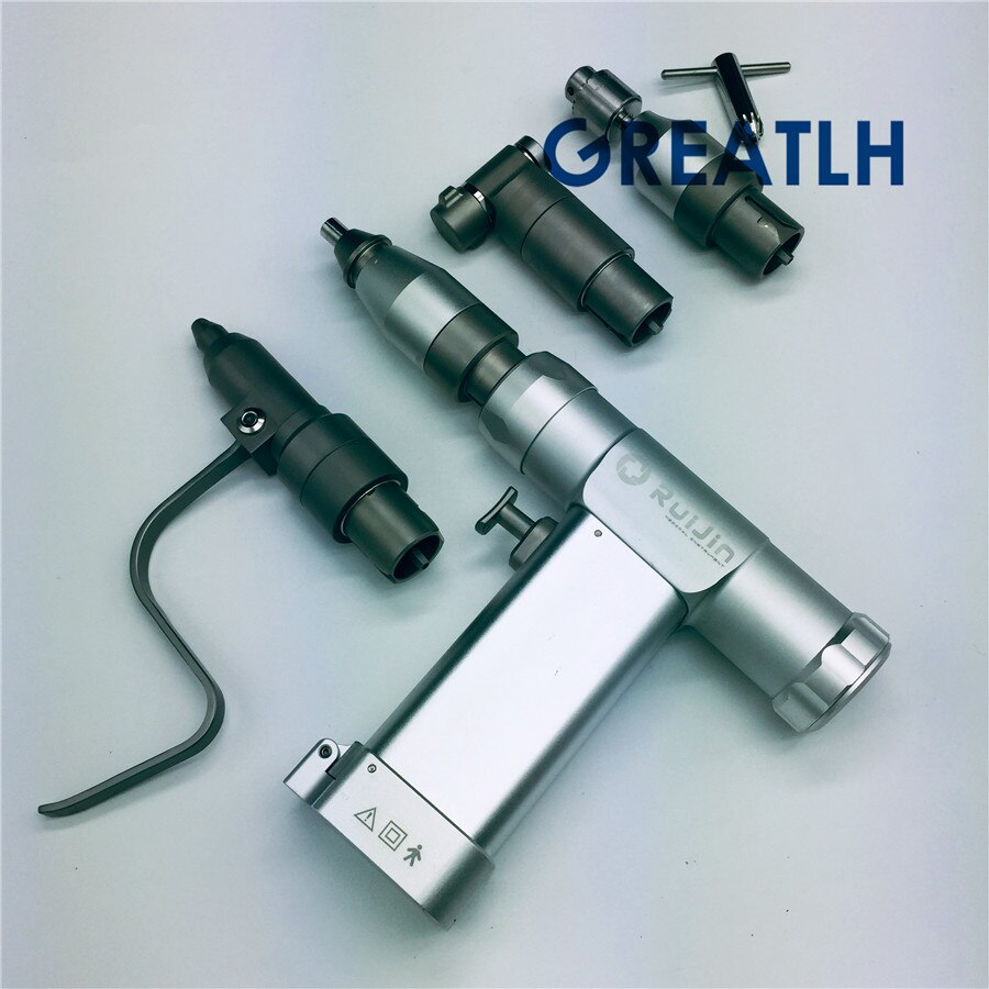 Ferramenta ortopédica elétrica portátil furadeira óssea multifunções cannulated swing saw para animal oco k agulha ao interface