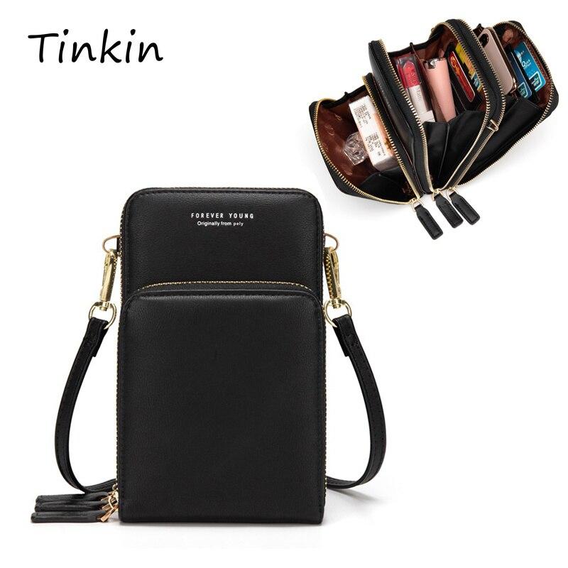 Transporte da gota colorido saco de celular moda uso diário cartão titular pequeno verão bolsa de ombro para mulher