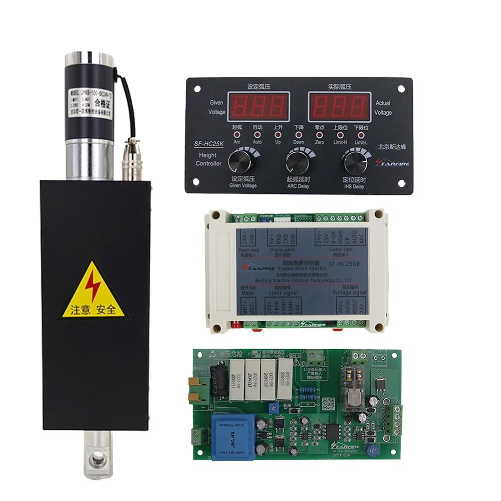 البلازما نك عدة نك ثك البلازما قطع مفتاح التحكم في الارتفاع المزود بمصباح SF-HC25G أو SF-HC25K مع ثك رافع JYKB-100-DC24V-T3