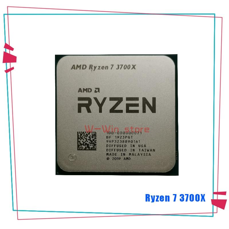 Процессор AMD Ryzen 7 3700X R7 3700X 3,6 ГГц 7NM L3 = 32M 100 000000071 Восьмиядерный шестнадцатипоточный процессор разъем AM4 Процессоры      АлиЭкспресс
