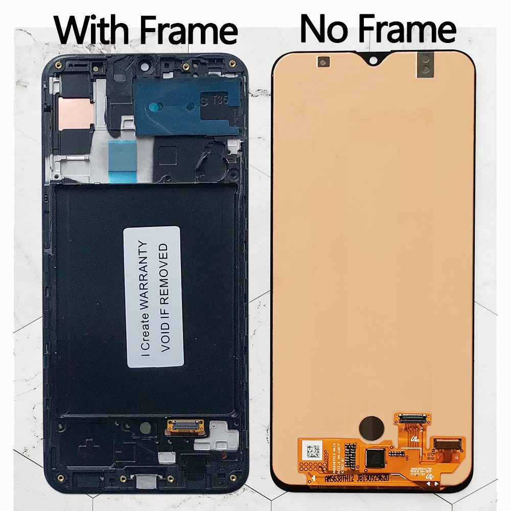 A30s LCD Touch Screen Digitizer Assembly Display For Samsung Galaxy A30s A307 A307F A307G A307YN display screen enlarge