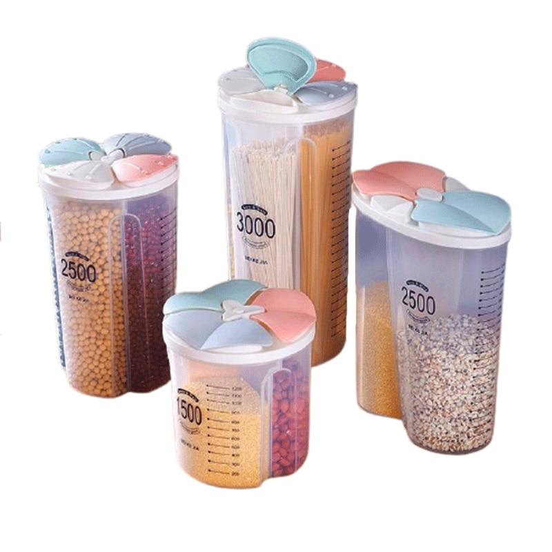Прозрачная коробка, кухонный резервуар для хранения, герметичный резервуар, контейнер для хранения, пластиковый контейнер для хранения про...