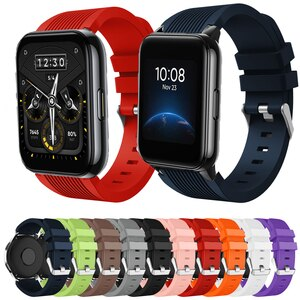 For Realme Watch 2/2 Pro Band Silicone Bracelet Watchband For Realme Watch S/S Pro Strap 22mm Watch Strap Wristband Ремешок