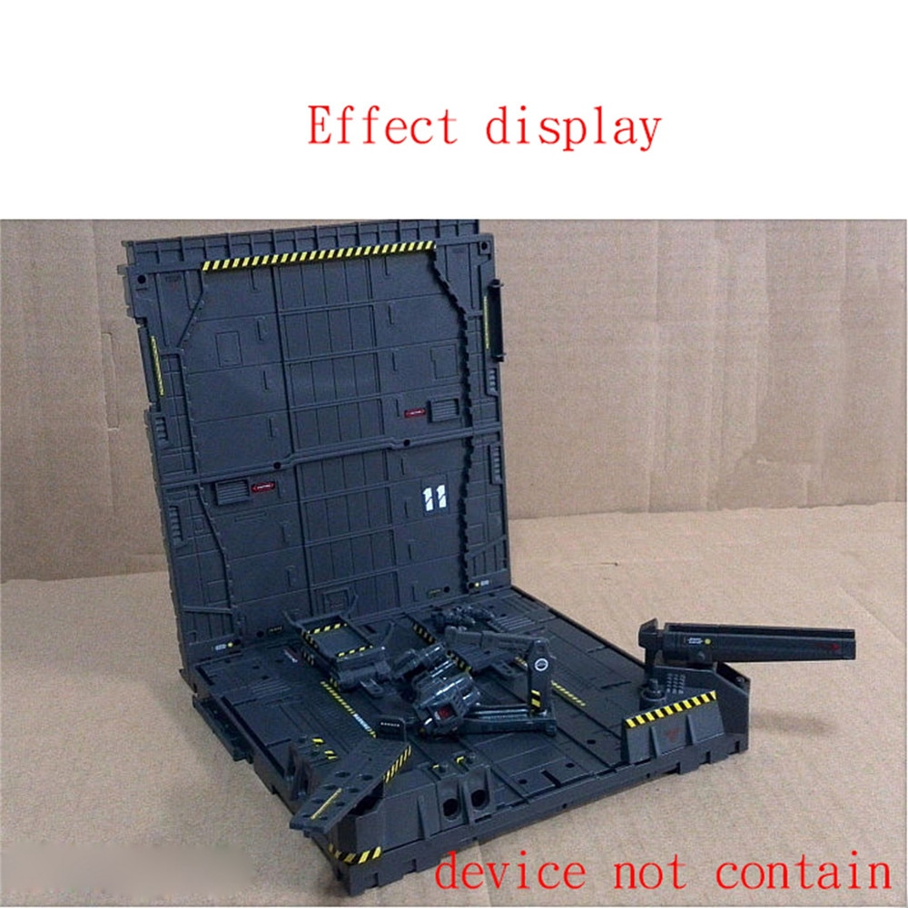 Pegatinas de advertencia de seguridad para cadena mecánica nido de máquina de BASE de acción para Gundam modelo MSG Accesorios