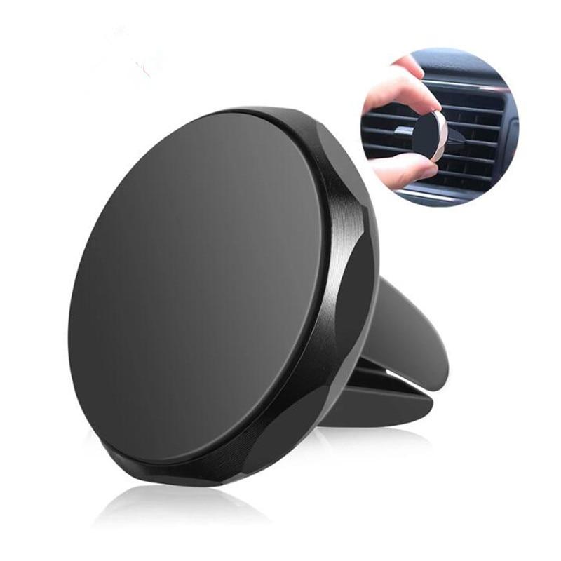 Soporte Universal para teléfono de coche, soporte magnético para GPS de coche, soporte de teléfono de coche para iPhone 11, anillo de teléfono Xiaomi Redmi Samsung