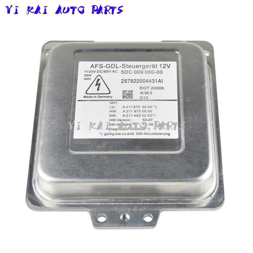 AEN NEW 5DC009060-00 A2118709026 W211 Xenon HID ballast for Mercedes W211 E Klasse