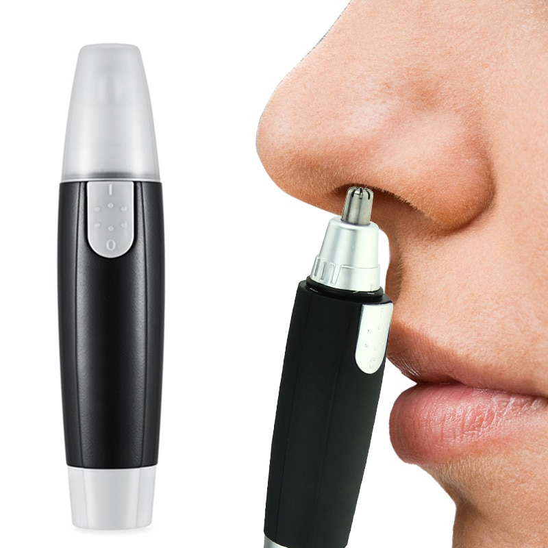Electric Nose Ear Neck Eyebrow Hair Trimmer Shaver Clipper Groomer Remover for Men Women Clean Trime