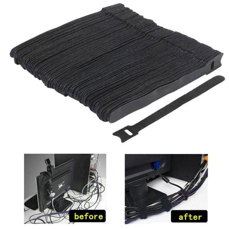 Cable de Velcro tipo T directo de fábrica, Cable de almacenamiento de...