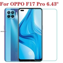 3PCS 9H 2.5D Tempered Glass Screen Protector For OPPO F17 Pro F17Pro 6.43
