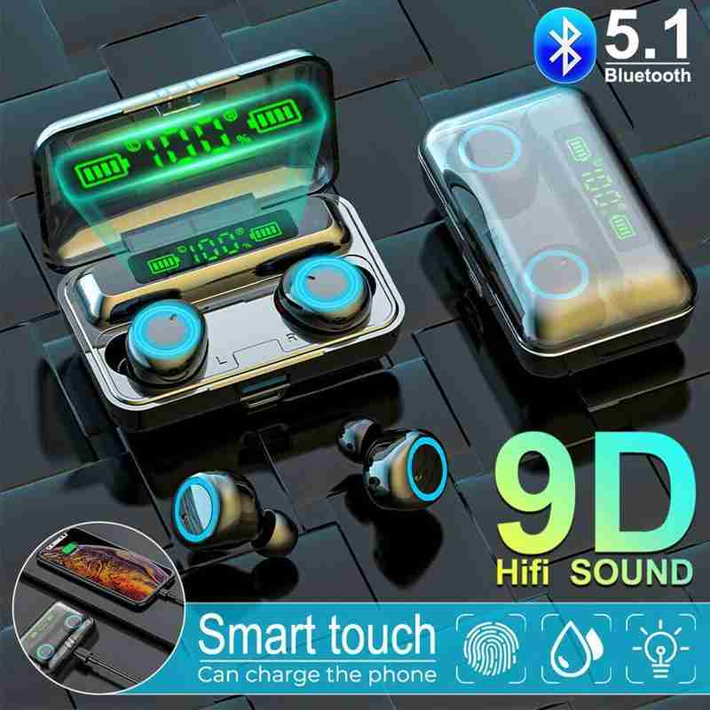 tws wireless bluetooth headset stereo wireless headset subwoofer earbud headset mini T8C6 enlarge