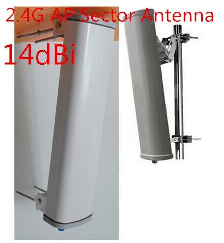 Osinvoy 2,4G punto de acceso para exterior antena alto gain14dBi 120 grados wifi exterior panel de señal antena 2,4g parche sector antena