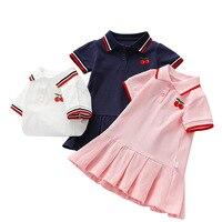 Платье в разноцветную полоску #1