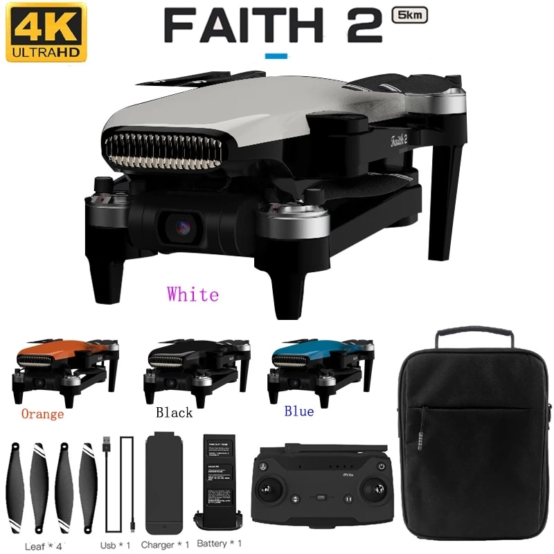 C-FLY Faith 2 pro GPS Drone 4K HD Camera 3-Axis Gimbal Professional RC Quadcopter 35min Flight 5KM