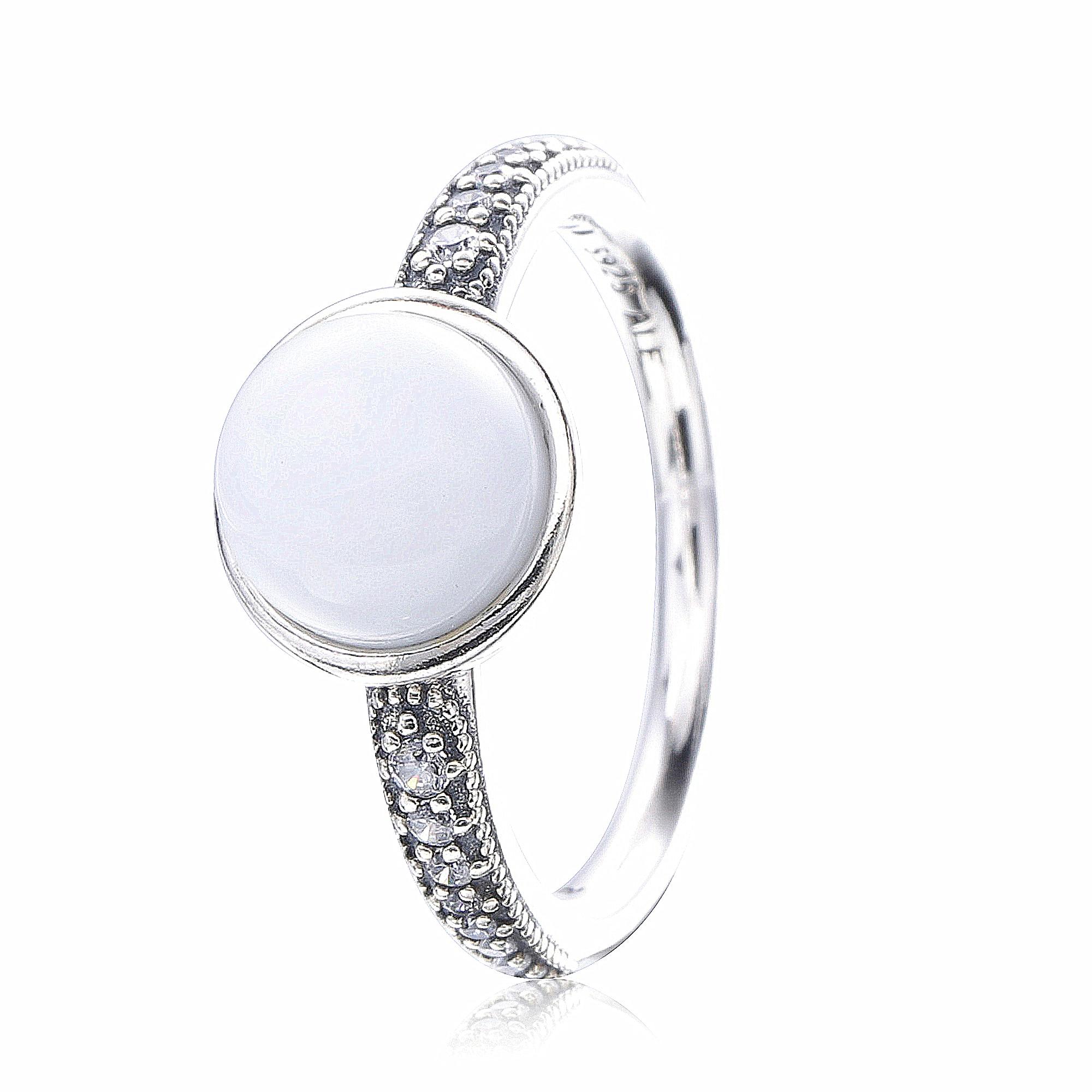 Ajax-Anillo de Plata de Ley 925 con estilo para mujer, anillos de...