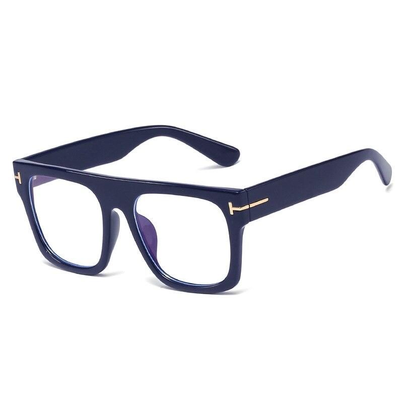 Men Big Oversized Square Optical Eyeglasses Women Female Myopia Presbypia Prescription Photochromic