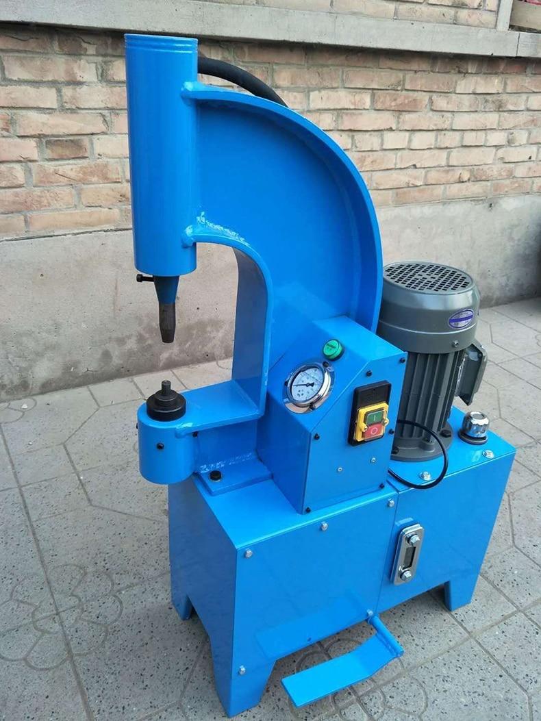 Машина для заклепок тормозных колодок 220 В, электрическая машина для заклепок обуви, инструменты для ремонта автомобиля, электрическая маши...