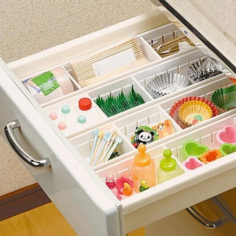 Armario aparador cajón divisor organizador caja de almacenamiento ajustable cajón caja de almacenamiento vajilla maquillaje nuevo dormitorio diseño creativo
