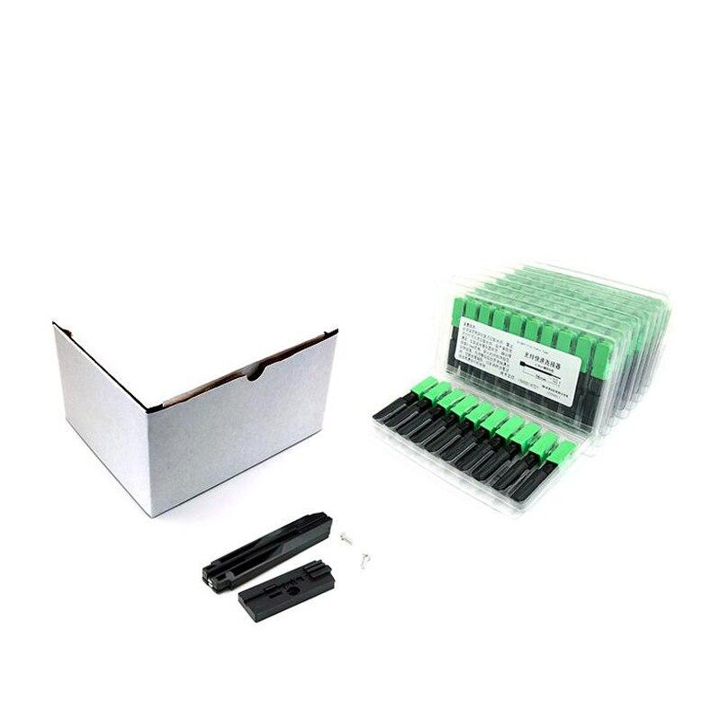 Factory Direct 3M 100 pieces/box SC APC Fiber Fast Connector SC APC Single Fiber optic quick connector SC Connector  Use FTTH enlarge