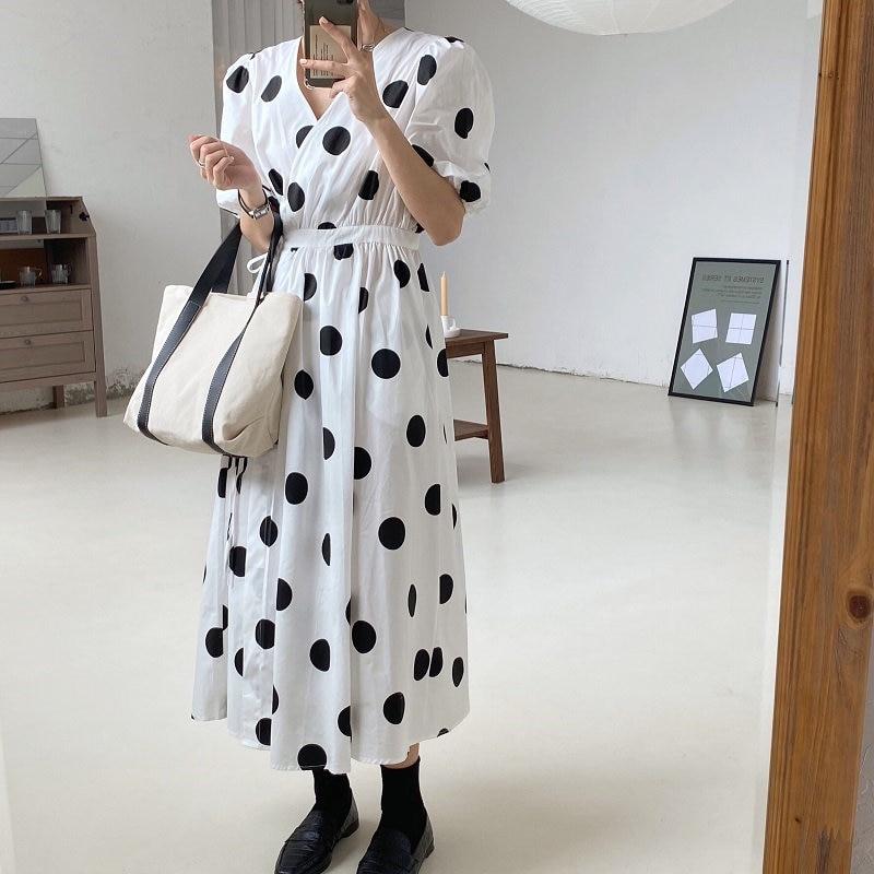 Alien Kitty Girls Gentle minimalista Solid Elegance 2020 verano A-Line lindo caliente Streetwear Sweet Brief mujeres Chic vestidos largos