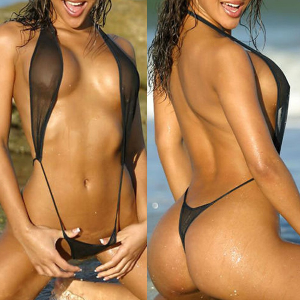 Plus Size Swimwear Women Micro Mini Bikini 2021 Transparent Swimsuit Bathing Suit Women Sexy Brazilian Bikini Set Thong Biquini