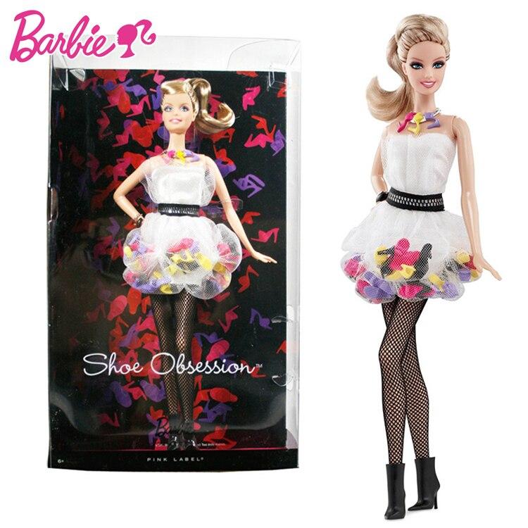 Accesorios originales de colección de muñecas Barbie para niñas, muñecos de moda...