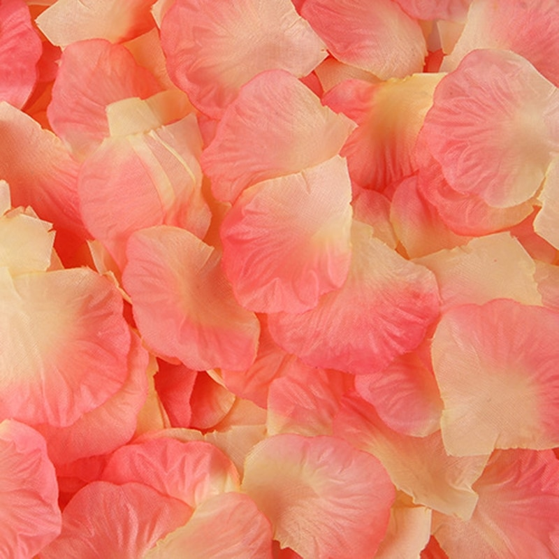 2000 vnt spalvingų dirbtinių rožių žiedlapių vestuvių petalas - Vestuvių priedai - Nuotrauka 6
