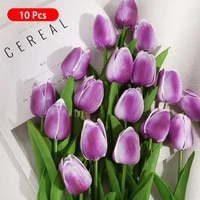 10pcs artificial flower real touch flowers for wedding decoration flower home decoration flower simulation plant