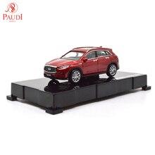 Paudi modèle 1/64 164 1 64 échelle Infiniti QX50 rouge 2018 modèle de voiture moulé sous pression jouets garçons filles cadeaux Collections