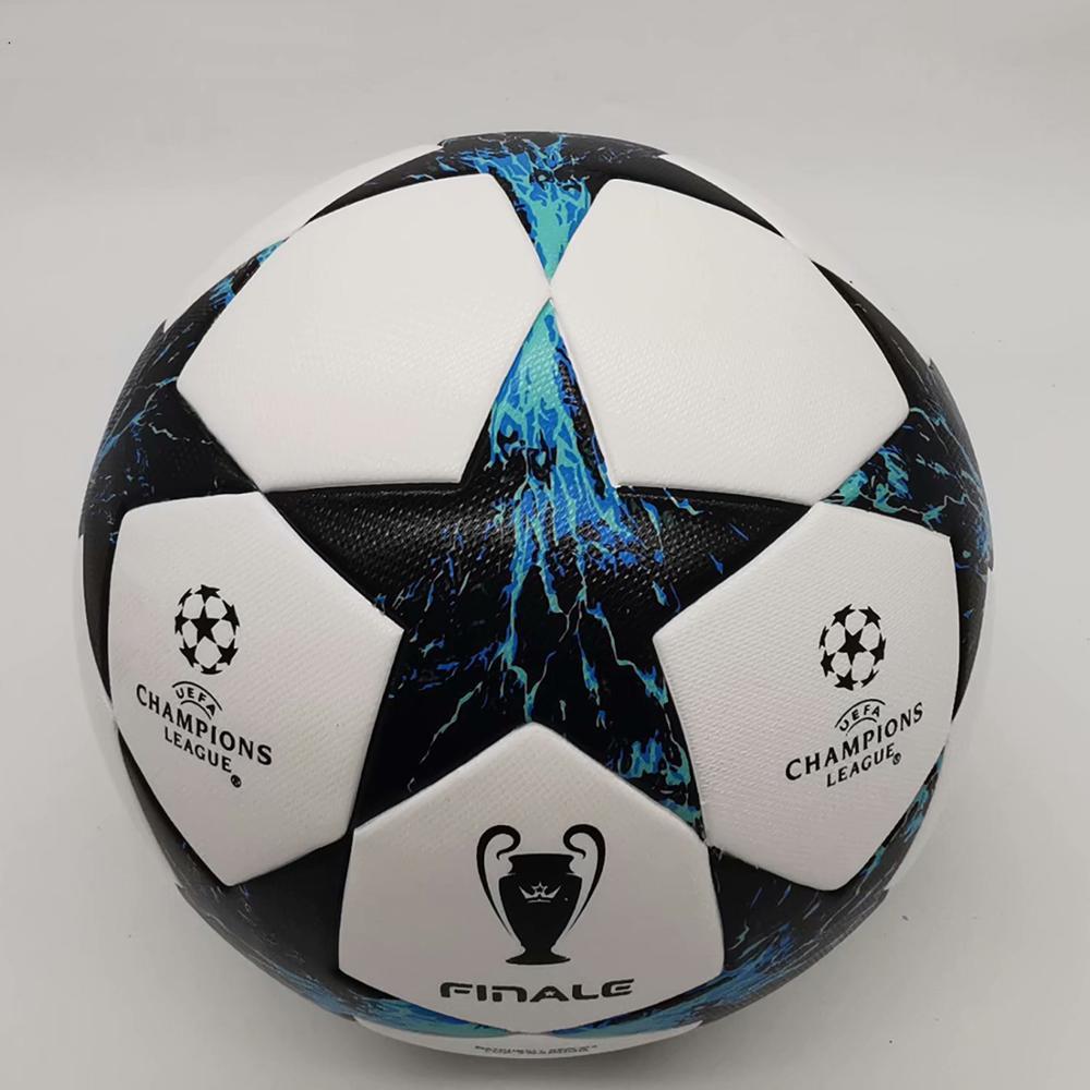 Футбольные мячи для тренировок по последней лиге, качественные мячи для тренировок по футболу, мячи высокого размера из полиуретана, футбол...